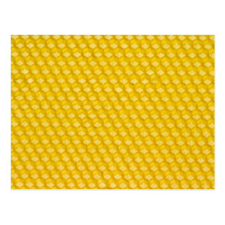 Honeycomb Background Gifts Template Postcard