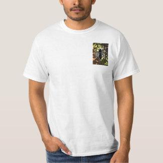 Honeycomb & Bee Geometrical T-Shirt
