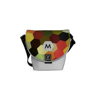 Honeycomb Brights Monogram Laptop Bag Messenger Bag