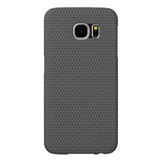 Honeycomb grey samsung galaxy s6 cases
