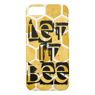 Honeycomb let it bee iPhone 8/7 Case