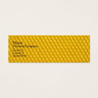Honeycomb Mini Business Card