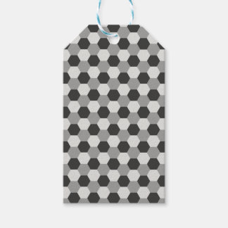 Honeycomb pattern gift tags