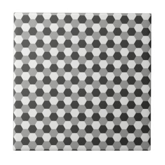 Honeycomb pattern tile