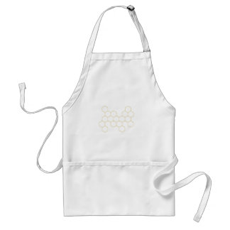 Honeycomb simplified pattern design standard apron