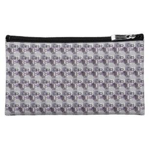 1d5ce65b533 Honeycomb   Striped Honeycomb Chevron Cosmetic Bag