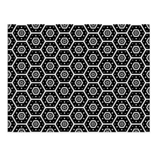 Honeycomb - v2 postcard