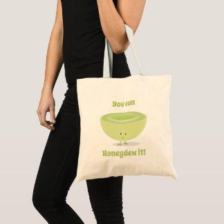Honeydew Encouragement | Basic Tote Bag