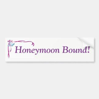 Honeymoon Bound sticker