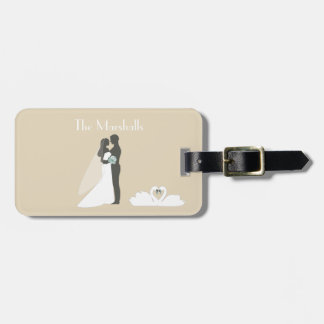 Honeymoon Couple Wedding Luggage Tag