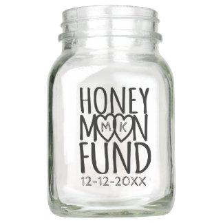 Honeymoon Fund | DIY Wedding Mason Jar