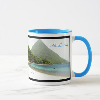 honeymoon, honeymoon, St Lucia, St Lucia Mug