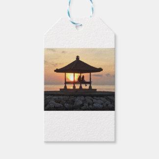 Honeymoon in Bali Gift Tags