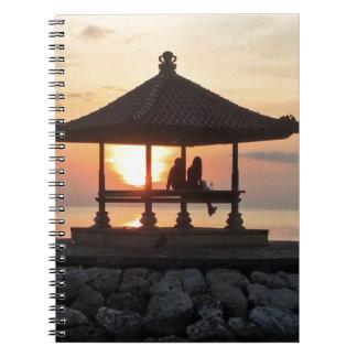 Honeymoon in Bali Notebook
