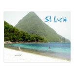 honeymoon, St Lucia Post Cards