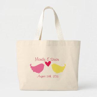 Honeymoon Tote Bag- Love Birds