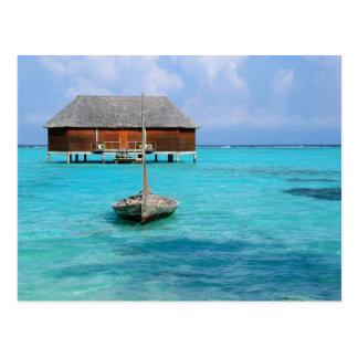 Honeymoon Villa, Maldives Postcard