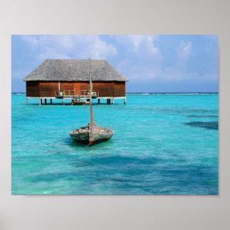 Honeymoon Villa, Maldives Poster