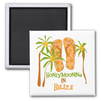 Honeymooning in Belize Magnet