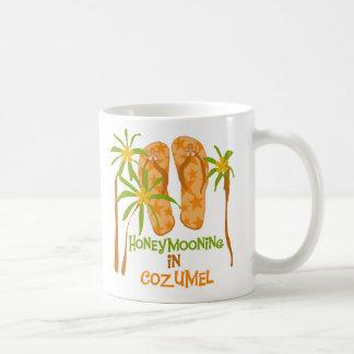 Honeymooning in Cozumel Mug