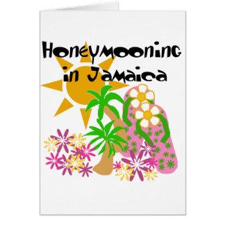 Honeymooning in Jamaica Card