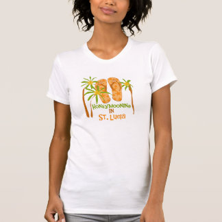 Honeymooning in St. Lucia T-Shirt