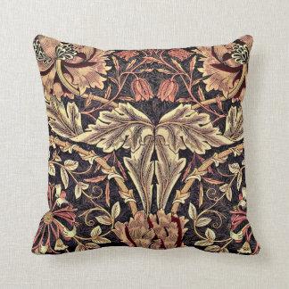 Honeysuckle, a William Morris vintage design Cushion