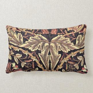 Honeysuckle, a William Morris vintage design Lumbar Cushion