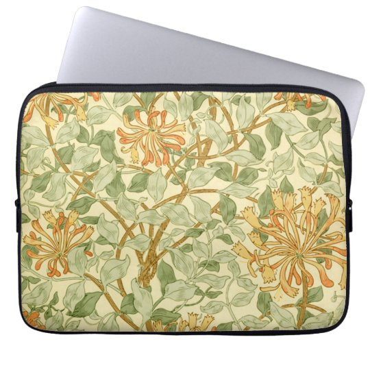 Honeysuckle by William Morris Laptop Sleeve