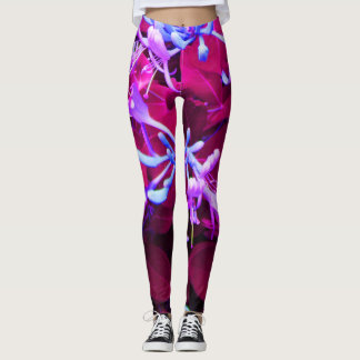 Honeysuckle Dream Sexy Flower yoga pants/Leggings Leggings