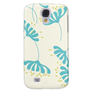 Honeysuckle Floral Pattern Samsung Galaxy S4 Cases