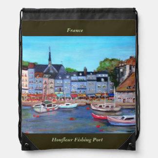 Honfleur, Drawstring Backpack