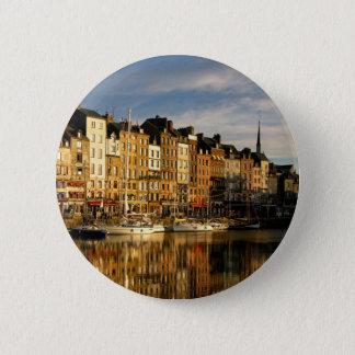 Honfleur, France 6 Cm Round Badge