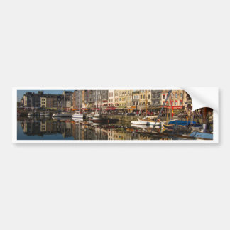 Honfleur Harbour, France Bumper Sticker