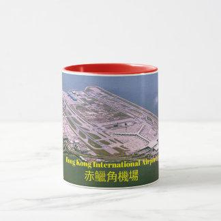 Hong Kong Airport Panoramic Image Mug