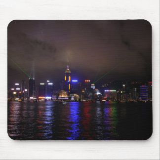Hong Kong at Night Mouse Pad