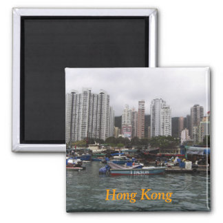 Hong Kong Bay Magnet