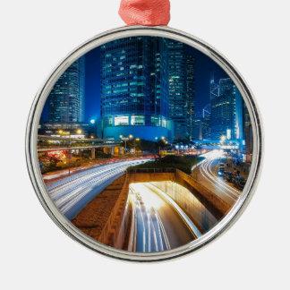 Hong Kong City Metal Ornament