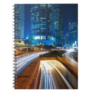 Hong Kong City Spiral Notebook