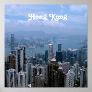 Hong Kong Cityscape Posters