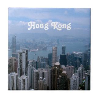 Hong Kong Cityscape Tile