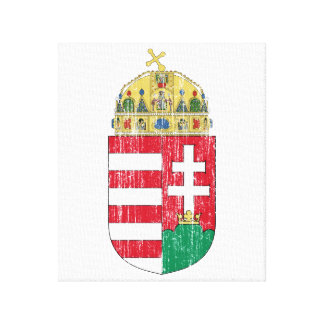 Hong Kong Coat Of Arms Stretched Canvas Prints
