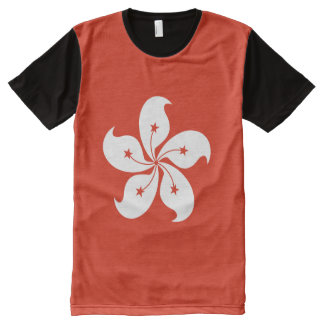 Hong Kong Flag All-Over Print T-Shirt