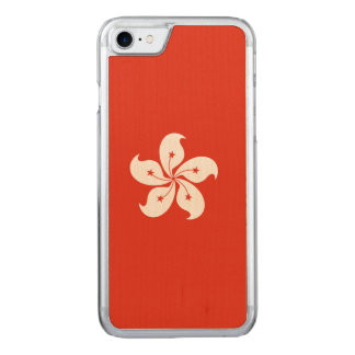 Hong Kong Flag Carved iPhone 7 Case