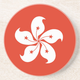 Hong Kong Flag Coaster