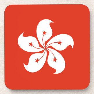 Hong Kong Flag Coasters
