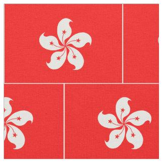 Hong Kong Flag Fabric