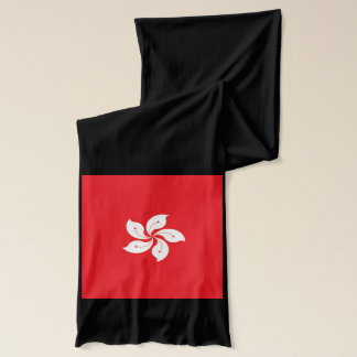 Hong Kong Flag Lightweight Scarf