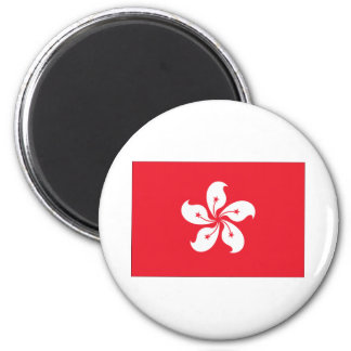 Hong Kong Flag Magnet