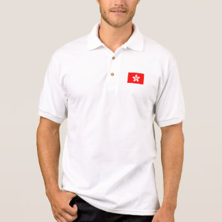 Hong Kong Flag Polo Shirt